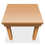 Wooden Table Perspective Royalty Free Stock Photography