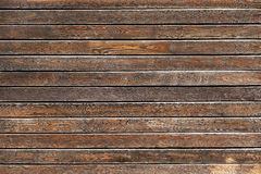 Wooden table. Texture background, top view stock photo