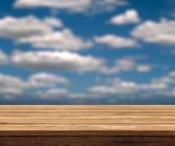 Wooden table Stock Photos