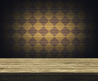 Wooden table top Royalty Free Stock Photos