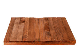 Wooden table top, isolated Stock Photography