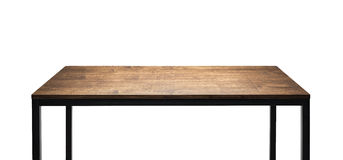 Wooden table top Royalty Free Stock Images
