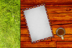 Wooden Table Royalty Free Stock Photography