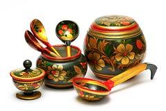 Wooden tableware, Stock Photos