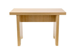 Wooden tabouret Stock Photo