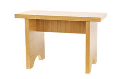 Wooden  tabouret Stock Photography