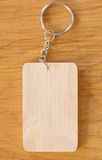 Wooden tag Stock Images