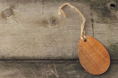 Wooden Tag Royalty Free Stock Photo