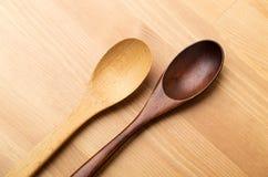 Wooden teaspoon Royalty Free Stock Photos
