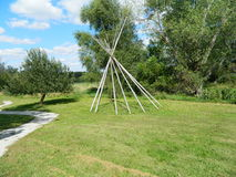 Free Wooden Teepee Royalty Free Stock Photo - 97178505