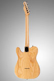 Wooden telecaster guitar Royalty Free Stock Photo