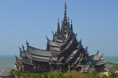 Wooden temple Royalty Free Stock Photos