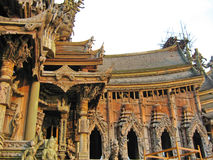 Wooden Temple Royalty Free Stock Photo