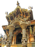Wooden Temple Stock Photography