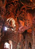 Wooden temple in Pattaya. The wooden temple of the truth in Pattaya, Thailand Stock Photos