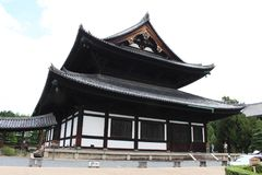 The wooden temple at Tofukuji complex in Kyoto, Japan. royalty free stock images