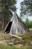 Wooden tent Stock Photography
