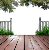 Wooden terrace Royalty Free Stock Photo