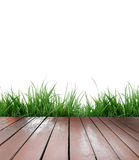 Wooden terrace Stock Photography