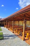 Wooden terrace Stock Photo