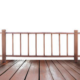 Wooden terrace Royalty Free Stock Images