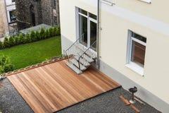 Wooden terrace Royalty Free Stock Photos