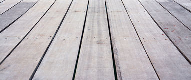 Wooden terrace floor Royalty Free Stock Images