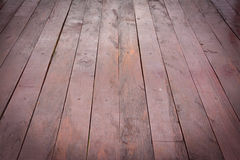 Wooden terrace floor Royalty Free Stock Photography