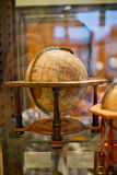 Wooden terrestrial globe Royalty Free Stock Image