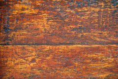 Wooden texture. Mahogany wood frame painted transparent Stock Photos