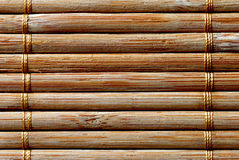 Wooden texture. With lasher chains Stock Photography