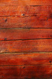 Wooden texture. Old wooden wall, recently restored Royalty Free Stock Images