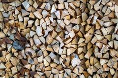 Wooden texture background broun firewood.  royalty free stock photos