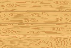 Wooden texture background of light brown boards. Vector illustration. Vector image of freshly cut planks with a wooden texture. Longitudinal section. Suitable Royalty Free Stock Image