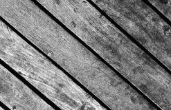 Wooden texture background. Real vintage old wood texture in mono. Wood striped texture background. Wooden floor concept. Wood diagonal stripes backdrop. Rustic Stock Photos