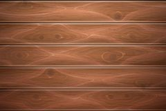 Vector realistic wooden timber background texture. Wooden texture background. Realistic vector timber wood floor surface. Brown detailed hardwood planks Stock Photo