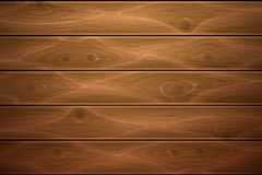 Vector realistic wooden timber background texture. Wooden texture background. Realistic vector timber wood floor surface. Brown detailed hardwood planks Royalty Free Stock Photography