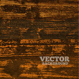Wooden texture background. Vector illustration. Royalty Free Stock Photography