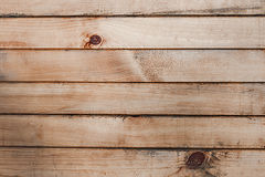 Wooden texture from boards. Old wooden texture from brown horizontal boards Stock Image