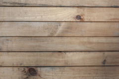 Wooden texture from boards. Old wooden texture from brown horizontal boards Royalty Free Stock Photo