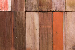 Wooden texture. Close up wooden panel background Stock Photography