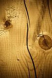 Wooden texture with cracks Royalty Free Stock Photos