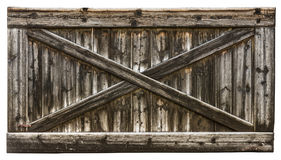 Wooden texture with cross Stock Photo