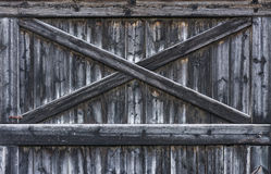 Wooden texture with cross Royalty Free Stock Photos
