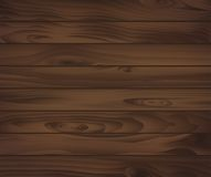 Wooden texture of dark brown boards. For natural background design. For interior or construction design usage Royalty Free Stock Photos