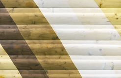 Wooden texture with different shades. Background for design and decoration.  stock photography
