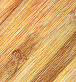 Wooden texture. Finished palm wood, close up Royalty Free Stock Photos