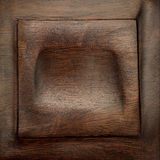 Wooden texture frame. Weathered texture in a wood carving frame Stock Photography