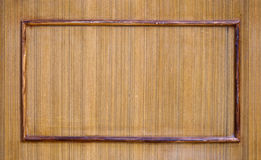 Wooden Texture Frame Stock Photography