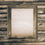 Wooden texture and frame Stock Photo